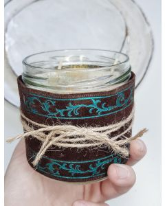 Magic Sparkle Christmas spice Candle warm and cozy scent with hint oh sweet orange