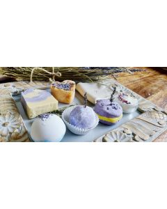 Calming and Relaxing Pure Lavender field Gift box