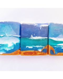 Deep in to the Sea every day HAND-SOAP ( MANGO with herbs and lemon )